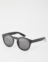 Monki Dora Sunglasses Matte Black