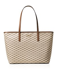Michael Michael Kors Studio Large Emry Top Zip Tote Natural Gold