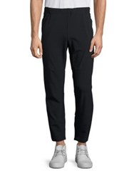 Theory Shiller Soft Track Pants Black