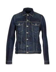 Dondup Denim Denim Shirts Men Blue