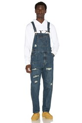 10.Deep Damien Repaired Overalls Dark Repair