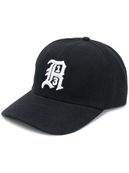 R 13 R13 Embroidered Logo Baseball Cap Black
