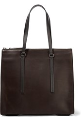 Rick Owens Leather Tote Brown