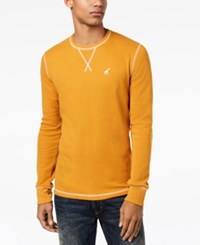 Lrg Men's Thermal Long Sleeve T Shirt Inca Gold