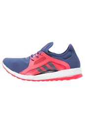 Adidas Performance Pureboost X Cushioned Running Shoes Raw Purple Shock Red Blue