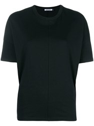 Krizia Loose Fitted T Shirt Black