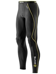 Skins Men's A200 Long Compression Tights Black