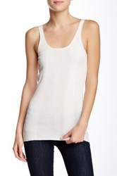 Inhabit Solid Tank Beige