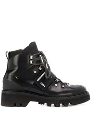 Dsquared2 Touch Strap Ankle Boots Black
