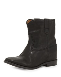 Isabel Marant Cluster Hidden Wedge Ankle Boot