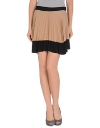 A.L.C. Knee Length Skirts Light Brown