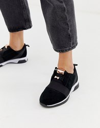 Ted Baker Black Sporty Detail Trainers