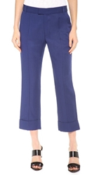 Band Of Outsiders Split Cuff Ankle Pants Cobalt