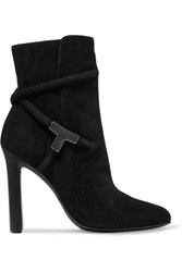 Tom Ford Suede Ankle Boots Black