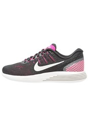 Nike Performance Lunarglide 8 Stabilty Running Shoes Pink Blast Summit White Anthracite Cool Grey Ghost Green
