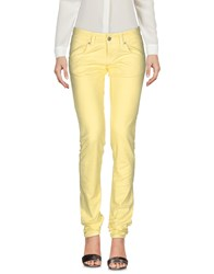 2W2m Casual Pants Yellow