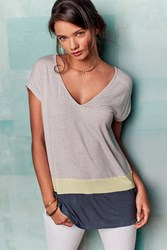 Bordeaux Luma Colourblock Tunic