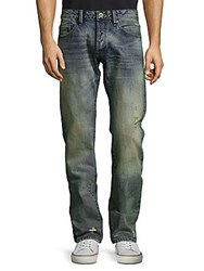 Cult Of Individuality Greaser Straight Fit Jeans Iodine