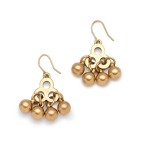 J.Crew Brass Droplet Earrings