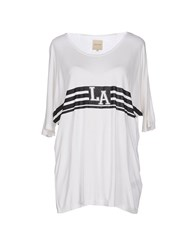 Selected Femme Topwear T Shirts Women Ivory