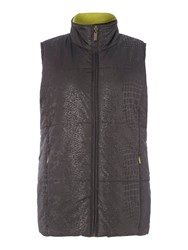 Tigi Fleece Lined Gilet Charcoal