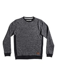 Quiksilver Men's Keller Fleece Sweatshirt Charcoal