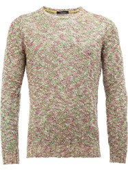 Roberto Collina Crew Neck Jumper Nude Neutrals