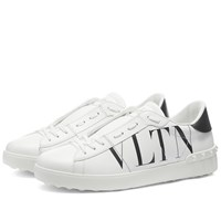 Valentino Vltn Open Low Top Sneaker White