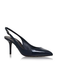 Dolce And Gabbana Kate Patent Slingbacks 75 Female Black