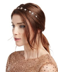 Jennifer Behr Starlight Single Strand Circlet Headband Rose
