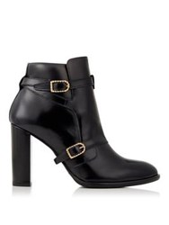 Tommy X Gigi Nautical Buckled Ankle Boot Navy