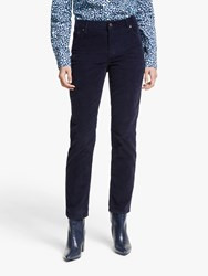 Boden Straight Slim Cord Jeans Navy