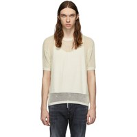 Dsquared2 Off White Knit T Shirt