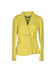 Annarita N. Suits And Jackets Blazers Women Acid Green