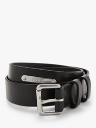 Ralph Lauren Polo Smooth Leather Belt Black