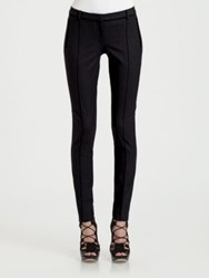 Jason Wu Stretch Wool Skinny Pants Navy