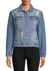 Candc California Denim Medium Wash Jacket