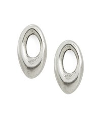 Uno De 50 Orbit2 Drop Earrings Silver