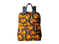 Vivienne Westwood Africa Squiggle Backpack Shopper Yellow Red Blue