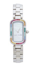 Marc Jacobs The Watch Sterling Silver Multi White