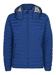 Aquascutum London Men's Emmett Quilted Jacket Bright Blue