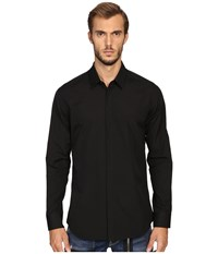 Dsquared Relax Dan Safety Pin Poplin Shirt Black