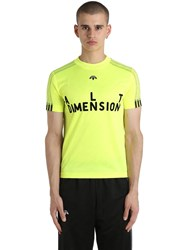 Adidas Originals By Alexander Wang Alt Dimension Slim Fit Soccer Jersey Yellow
