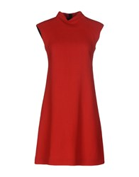 Aquilano Rimondi Short Dresses Red