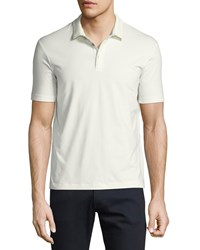 Armani Collezioni Supima Cotton Polo Shirt White