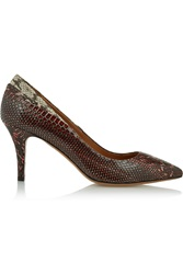 Isabel Marant Pealman Elaphe Pumps Red