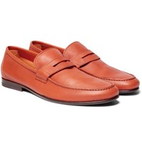 Harry's Of London Harrys James Leather Penny Loafers Camel