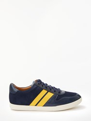 Ralph Lauren Polo Camilo Trainers Navy Varsity Gold