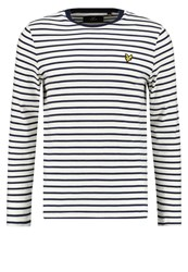 Lyle And Scott Long Sleeved Top Off White Off White