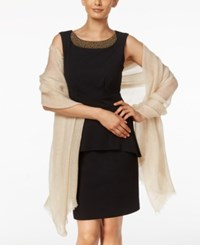 Inc International Concepts Tiny Pleated Wrap Only At Macy's Ivory